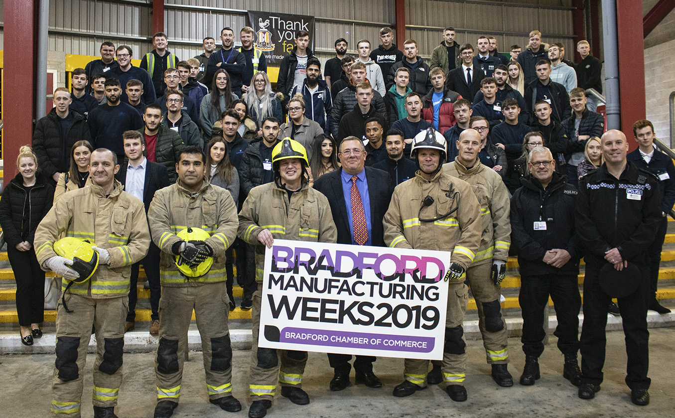 Driving event targets local apprentices as part of Bradford Manufacturing Weeks